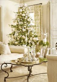 adorable green and white nuance of christmas ornaments and decorations in dazzling living room adorable living room