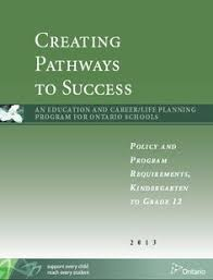 Creating Pathways to Success   Ontario Ministry of Education http   www edu
