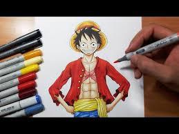 Drawing <b>Luffy</b> - Post Timeskip | <b>One Piece</b> - YouTube