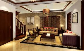 chinese style decor: bedroompleasant mediterranean style living room curtains interior design asian classical villa chinese style pleasant mediterranean style