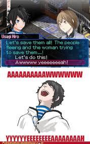 Hahahaha wtf! (Devil Survivor 2/Memes)   Devil Survivor 2 / Dangan ... via Relatably.com