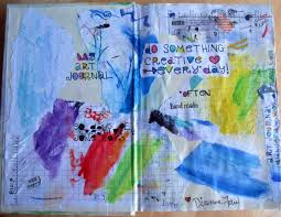 art journal title page lessons teach
