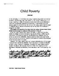 poverty essay outline Pleasure of Health Persuasive Essay On Child Poverty   Essay Topics