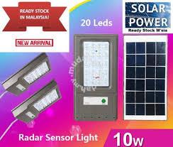 20LED Solar <b>LED Radar</b> Sensor Light <b>IP65 Waterproof</b> - Garden ...