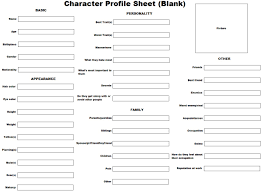 anime character profile template character profile sheet blank anime character profile template character profile sheet blank by kittensangel on