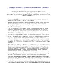 how to write resume references how to write references on a cv