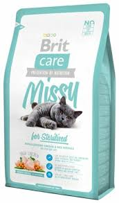 <b>Корм</b> для стерилизованных кошек <b>Brit Care</b> Missy с курицей 7 кг ...