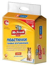 <b>Пеленки</b> для собак впитывающие Mr. Fresh <b>Expert</b> Super F509 ...