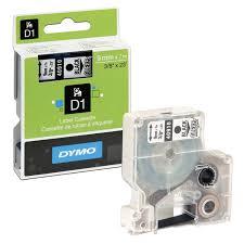 Купить <b>Картридж</b> для принтеров этикеток <b>DYMO D1</b>, 9 мм х 7 м ...