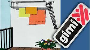 <b>Сушилка</b> для сушки <b>белья gimi</b>. Крепление к стене. Полезные ...