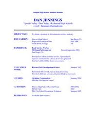 College Student Sample Resume Objectives   Shopgrat