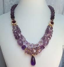 Купить или заказать <b>Колье</b> из натуральных камней PROVANCE в ...