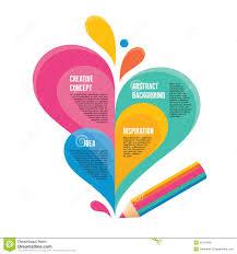 infographic concept creative design pencil ill stock vector infographic concept creative design pencil ill