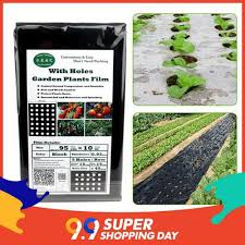 【9.9 Special price】Garden vegetable black film agricultural plant ...