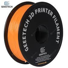 GEEETECH 1.75mm 1KG PLA 3D Printer Orange Filament Sale ...