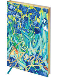 "Записная книжка ""Vision. Van Gogh. Irises"", А5 <b>Greenwich Line</b> ..."
