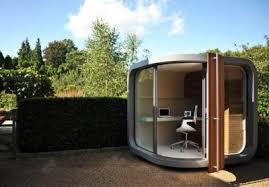backyard office pod cuts down your commute time incredible things backyard office pod cuts