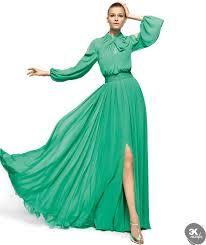 yeşil abiye modeli