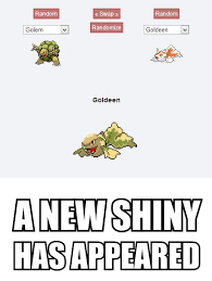Redundancy.. Or New Shiny.. You decide! | Pokefusion / Pokemon ... via Relatably.com