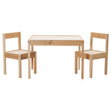 lÄtt children's table and  chairs  ikea