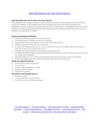 hospital receptionist resume job description  hospital receptionist resume job description