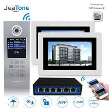 Jeatone 7 inch Wired/Wireless WiFi Video Door ... - Amazon.com