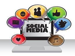 Image result for social media images in the computer screen