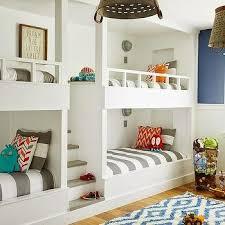 built in steps between bunk beds bunk bed lighting ideas