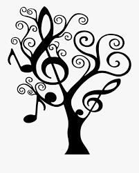 Clip Art <b>Music Wall Decal</b> Backgrounds - Music Tree Clip Art , Free ...