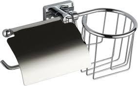 <b>Держатель</b> для туалетной бумаги и освежителя <b>Fora Style</b> ST045 ...