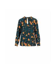 <b>Autumn</b> leaves print <b>long sleeve shirt</b> Sveva
