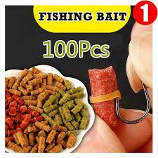 TOKUSHIMA <b>1 Bag</b> of 100 Pcs Carp <b>Fishing Bait</b> Fresh Scent ...
