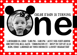 mickey mouse first birthday invitations gangcraft net uncategorized page of mickey mouse invitations templates birthday invitations