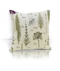 <b>Подушка</b> декоративная <b>Botany</b>, цвет бежевый, <b>размер</b> 40x40 см ...