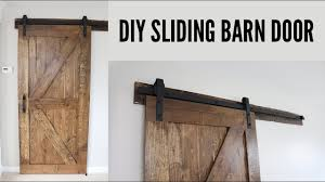 Sliding Barn Doors Diy Sliding Barn Door Youtube
