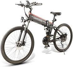 <b>SAMEBIKE LO26</b> Electric <b>Bike Moped</b> Spoke Rim Folding Ebike 48V ...