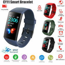 <b>CY11</b> Watch Waterproof <b>Smart Bracelet</b> Heart Rate Blood Pressure ...