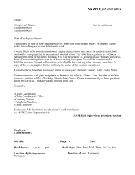 44 fantastic offer letter templates employment counter offer job offer letter 19