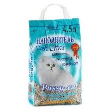 Наполнитель для кошачьего туалета <b>PUSSY</b>-<b>CAT океанический</b> ...