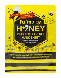 <b>FarmStay</b> Visible Difference Mask Sheet Honey