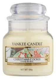 <b>Ароматическая свеча Christmas Cookie</b> Yankee Candle купить ...