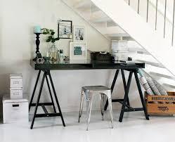 eclectic under stairs home office area homeoffice homeoffice interiordesign understair