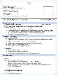 resume format for mba finance fresher       career   pinterest    resume format for mba finance fresher