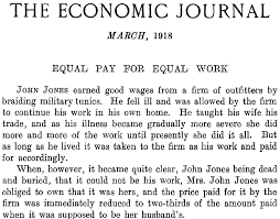 economist s view  i didn t realize it at the time but dame millicent garrett fawcett was every bit as remarkable as edgeworth and arrow and economics was the least of her