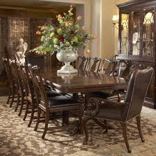 Arm Chairs Dining Room Dining Room Cream Leather Dining Chairs With Arms With Long
