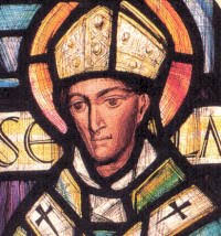 San Pedro Damián — Nacimiento-muerte: (1007-1072) — Ministerio: Benedictino. Obispo de Ostia. — Proclamación Doctor: 1828. • San Anselmo de Canterbury - san%2Banselmocant