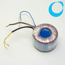 Transformer toroidal 230V - <b>2 x 12V 6</b>,25 A thermoprotection