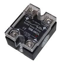 <b>Solid state relay SSR</b>-100DA, <b>100A</b> 3-32V DC to AC   ATO.com