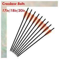 """20""""Fiberglass <b>Crossbow Bolts</b> for Archery <b>Bow</b> Hunting Shooting <b>6</b> ..."""