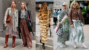 The Street <b>Style</b> Crowd Wore Their Best <b>Animal Prints</b> on Day 1 of ...